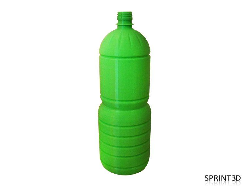Прототип бутылки из зеленого PLA
