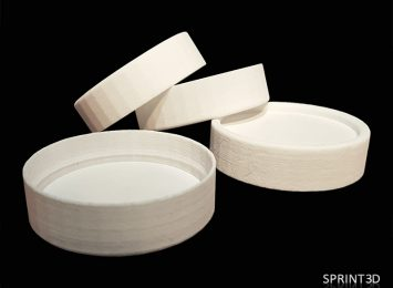 Прототипы крышек из полиамида
