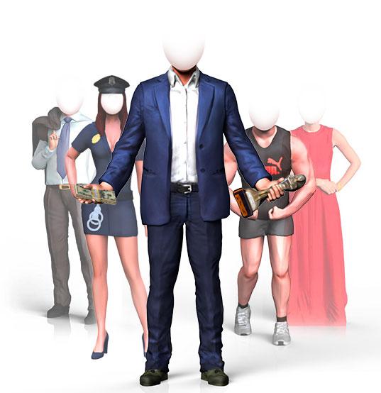3D-фигурки людей