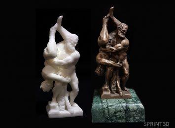 Фигурка Божественный захват Мастер модель и Литье из Бронзы