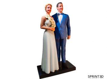 Фигурка «Свадебная композиция»