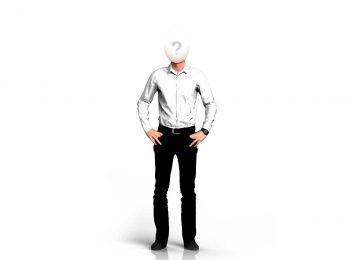 Белый верх, черный низ