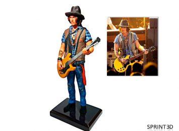 Фигурка «Джонни Депп с гитарой»
