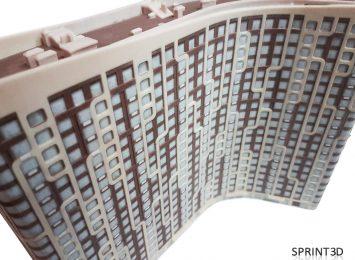 Макет здания из гипсополимера