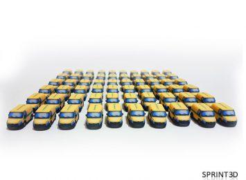 Миниатюрные машинки из гипса