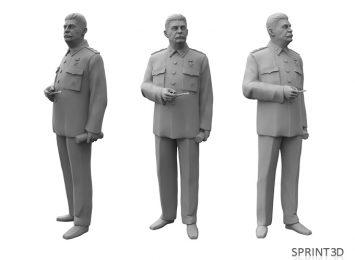 3D модель Сталин