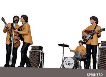 The Beatles 3D model 4