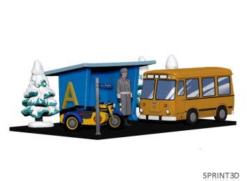 3D Модель ГАИ 2