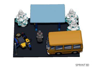 3D Модель ГАИ 3