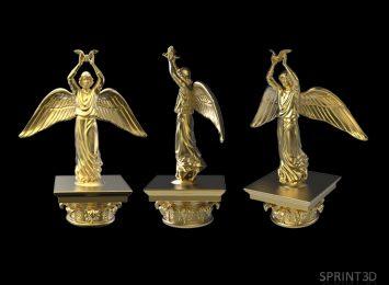 3D модель Ангел Мира