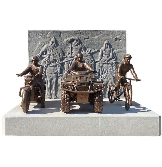 Габаритные скульптуры