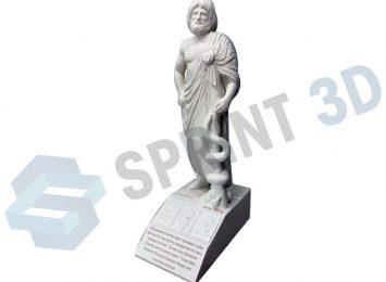 Габаритная статуя