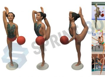 Фигурка гимнастки