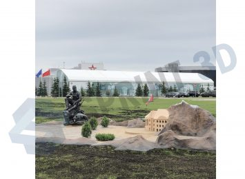 Скульптура Афганца В Парке Патриот 2