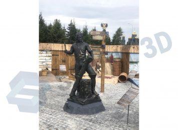 Скульптура Петра 1 В Парке Патриот 1